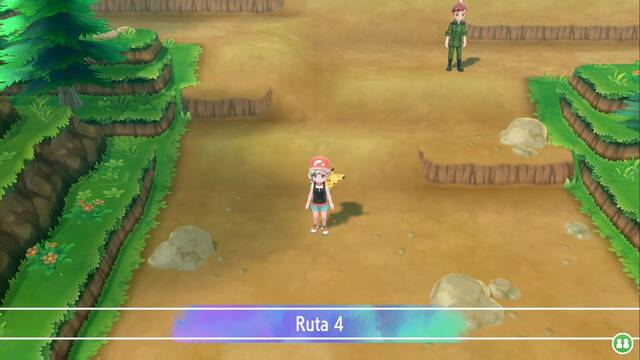 Ruta 4 en Pokémon Let's Go - Pokémon y secretos