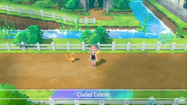 Ciudad Celeste en Pokémon Let's Go - Paso a paso y secretos