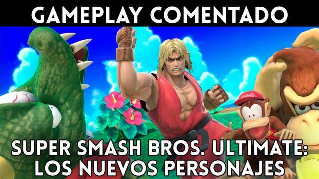 Super Smash Bros. Ultimate: Gameplay de los nuevos personajes