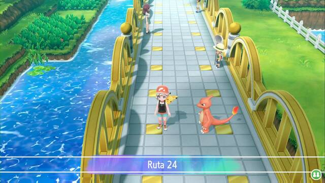 Ruta 24 en Pokémon Let's Go - Pokémon y secretos