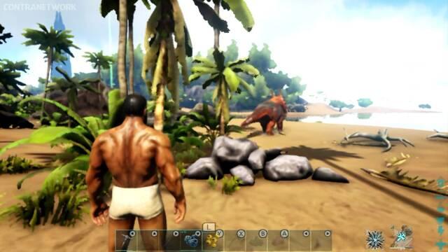 Así luce Ark: Survival Evolved en Nintendo Switch