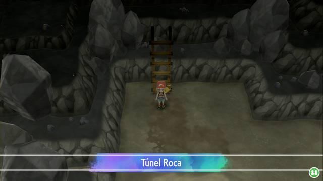 Túnel Roca en Pokémon Let's Go - Pokémon y consejos