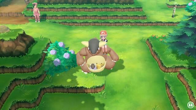 TODAS las Monturas en Pokémon Let's Go - Alternativa a la bicicleta