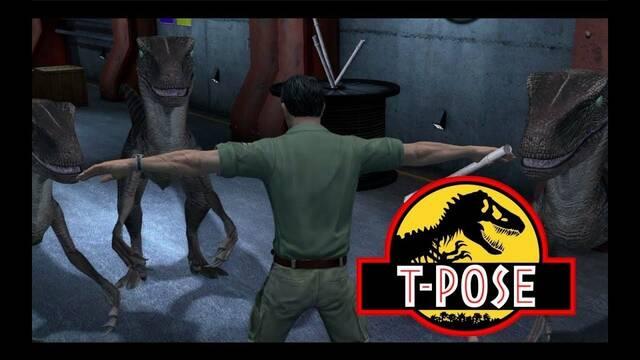 Quitan las animaciones de Jurassic Park de Telltale y este es el resultado
