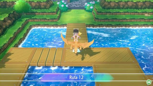 Ruta 12 en Pokémon Let's Go - Pokémon y secretos