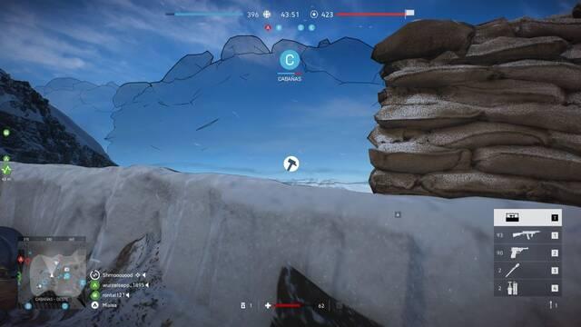 Cómo construir fortificaciones en Battlefield 5
