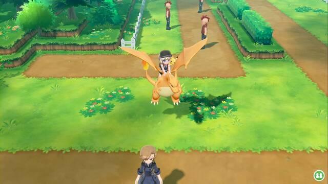 Ruta 14 en Pokémon Let's Go - Pokémon y secretos