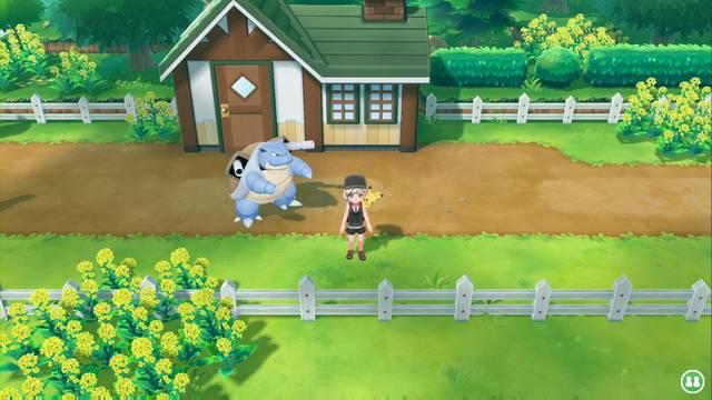 Ruta 16 en Pokémon Let's Go - Pokémon y secretos