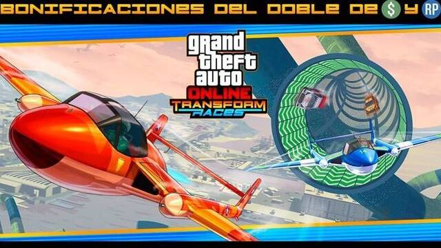 GTA Online: Doble GTA$ & RP en Transform Races y contratos de moteros