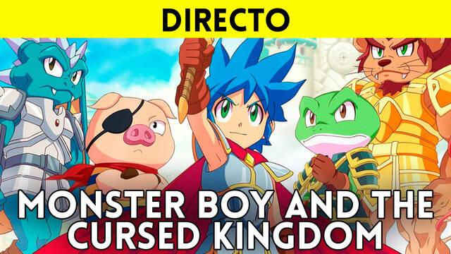 Jugamos en directo a Monster Boy and the Cursed Kingdom a partir de las 19:00