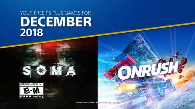 Ya disponibles los juegos gratuitos de PS Plus de diciembre