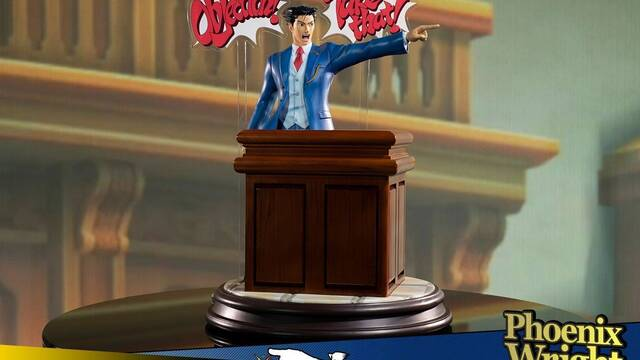 First 4 Figures detalla su estatua de Phoenix Wright