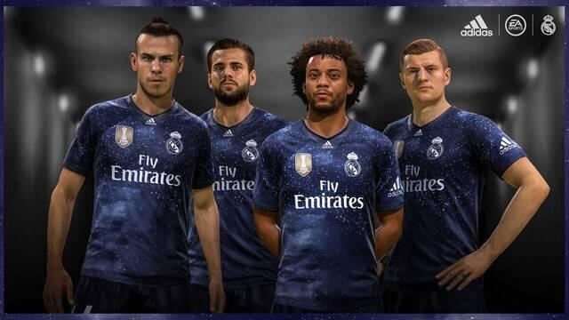 Asensio y Casemiro presentan la 5ª equipación del Real Madrid en FIFA 19