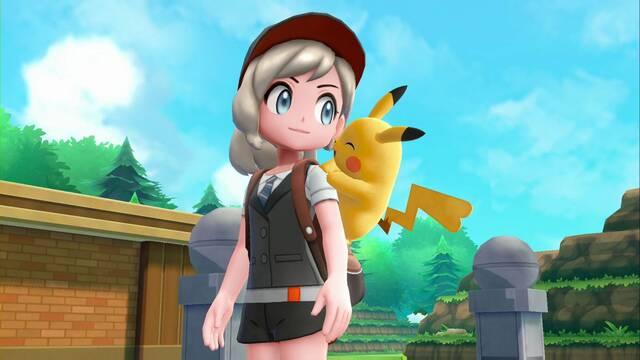 Liga Pokémon (Meseta añil) Pokémon Let's Go - Derrota al alto mando
