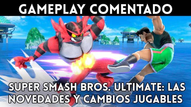 Super Smash Bros. Ultimate: Gameplay de las novedades y cambios jugables