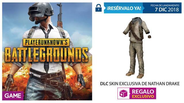 GAME detalla su incentivo por reserva de PUBG edición física en PS4