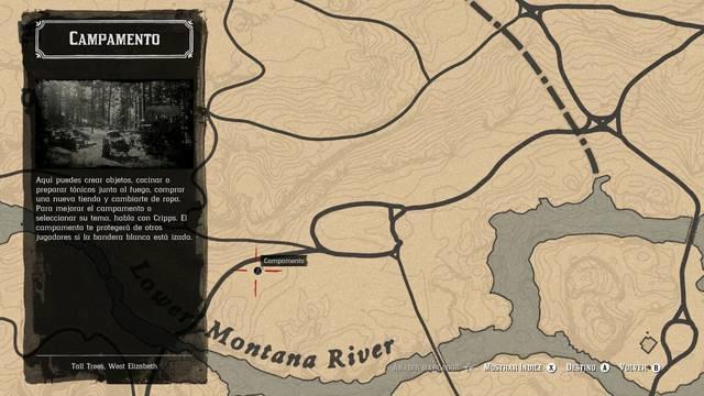 El Campamento en Red Dead Online - Tipos, mejoras y todo lo que ofrece