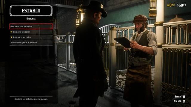 Caballos en Red Dead Online - Establos, seguro, Apariencias...