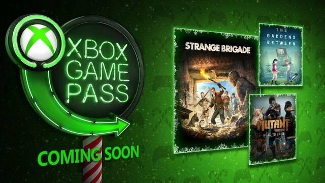Xbox Game Pass recibirá Strange Brigade y Mutant Year Zero en diciembre