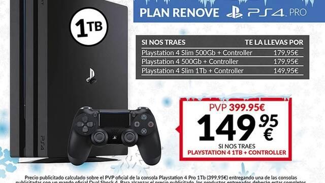 GAME detalla ofertas de invierno, rebajas semanales y Plan Renove para PS4 Pro