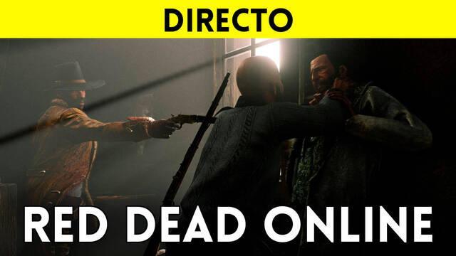 Jugamos en directo a Red Dead Online a partir de las 19:00