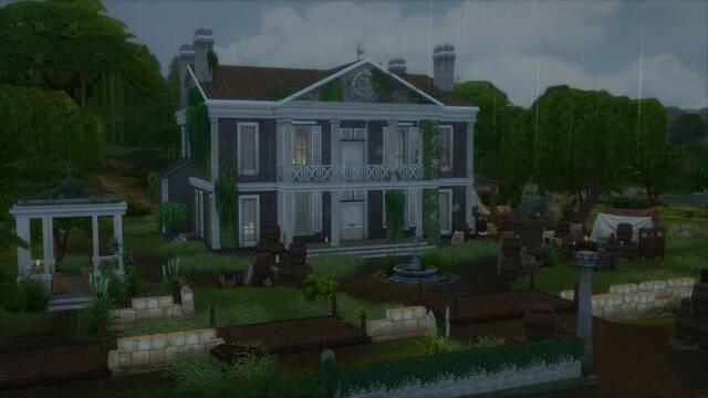 Red Dead Redemption 2: Recrean en Los Sims 4 una de las mansiones del juego