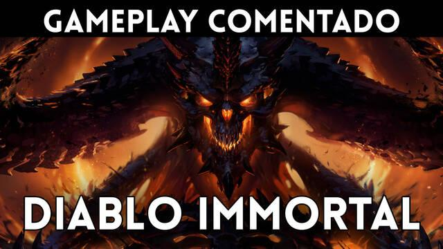 Gameplay comentado de Diablo Immortal