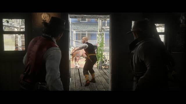 Destilación americana en Red Dead Redemption 2 - Misión princial