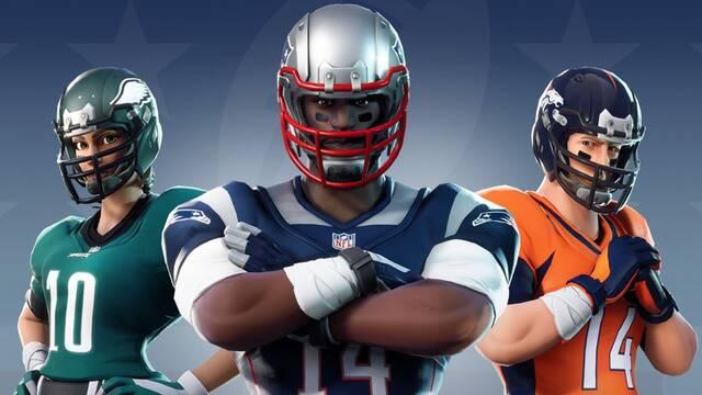 Fortnite se asocia con la NFL para ofrecer skins basadas en el fútbol americano