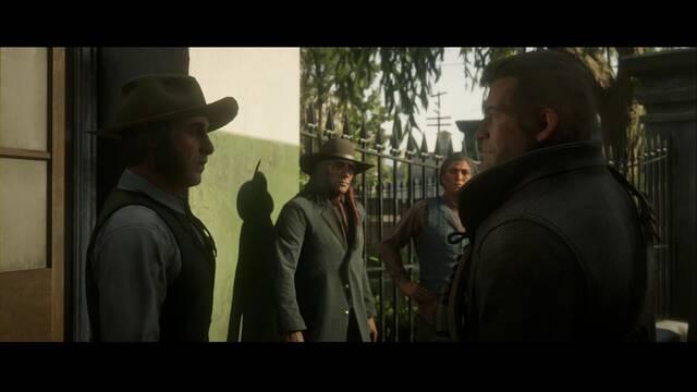 Padres americanos - Partes I y II en Red Dead Redemption 2 - Misión principal