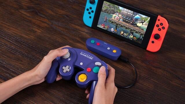 Anunciado un accesorio para hacer inalámbricos los mandos de GameCube en Switch