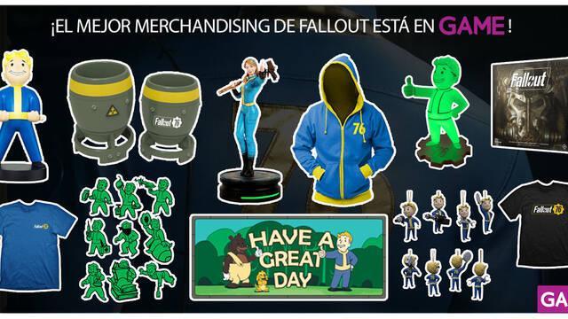 GAME recibe a Fallout 76 con un completo surtido de merchandising exclusivo