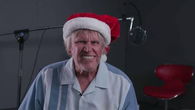 El actor Gary Busey presenta el contenido navideño de Killing Floor 2