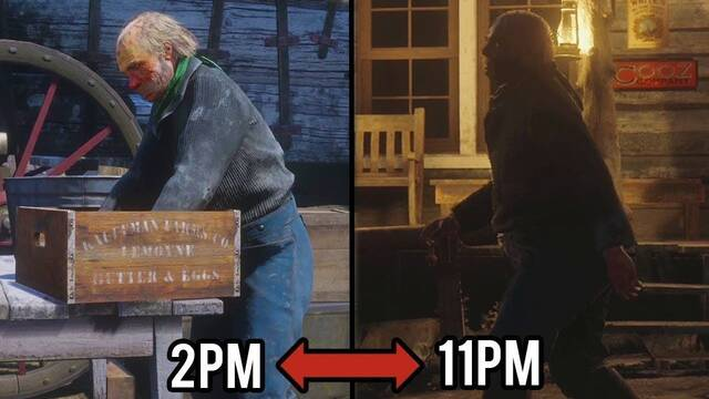Siguen a los NPC de Red Dead Redemption 2 durante todo el día