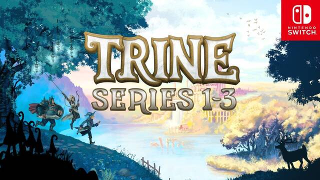 La trilogía de Trine llegará a Nintendo Switch