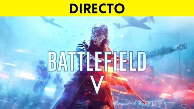 Jugamos en directo a la versión final de Battlefield 5 a las 19:00