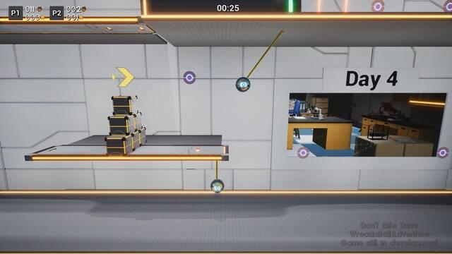 Qubic Games ha publicado Wreckin' Ball Adventure en PC y Nintendo Switch