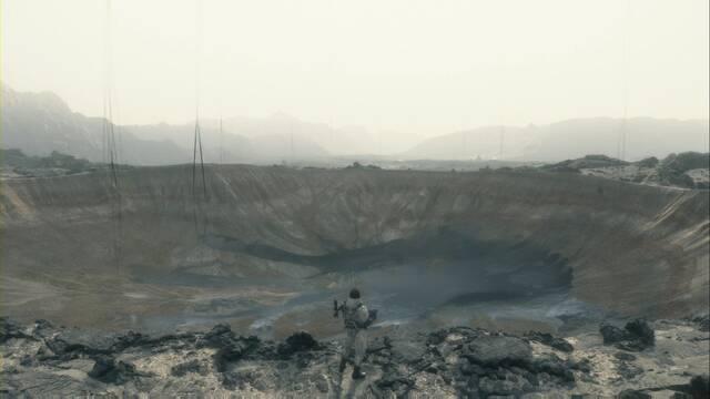 Explosiones y cráteres en Death Stranding: cómo evitar que pasen