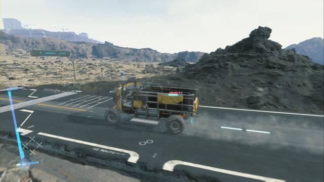 ¿Cómo construir carreteras en Death Stranding?