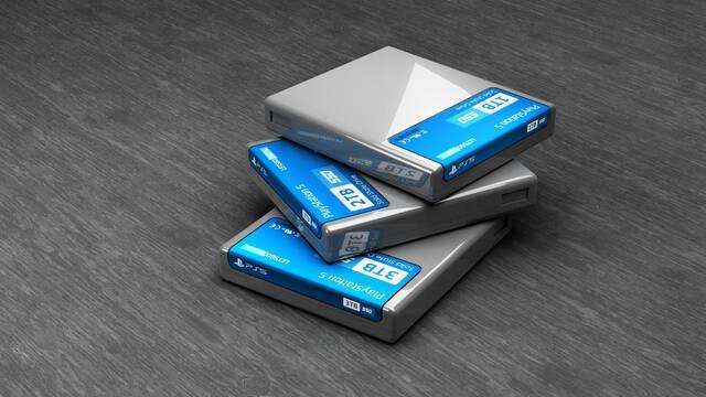 Cartuchos PS5 SSD