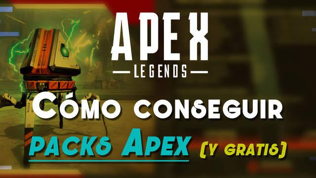 Cómo conseguir Packs Apex gratis en Apex Legends y sus recompensas