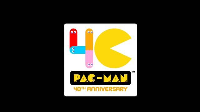 Logo Pac-Man 40 aniversario