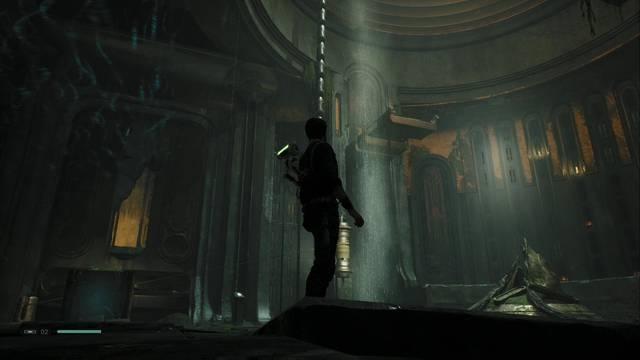 SW Jedi: Fallen Order - Cómo subir el capitel de la Tumba de Miktrull