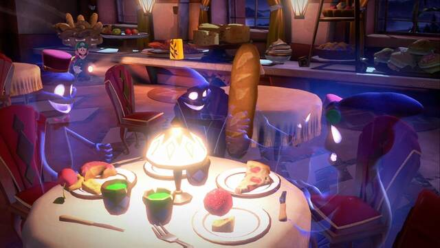 Entresuelo en Luigi's Mansion 3 al  100% y coleccionables