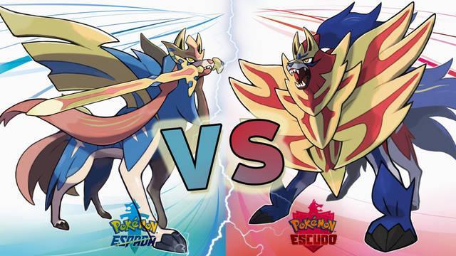 Pokémon Espada y Escudo: Pokémon exclusivos y diferencias entre versiones