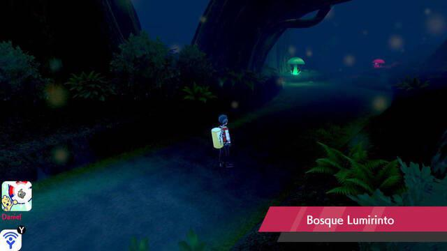 Bosque Lumirinto en Pokémon Espada y Escudo - Qué Pokémon hay y secretos