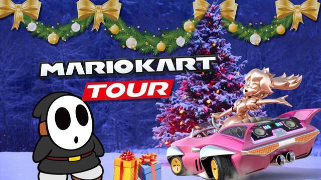Mario kart tour desafíos 2ª semana de invierno