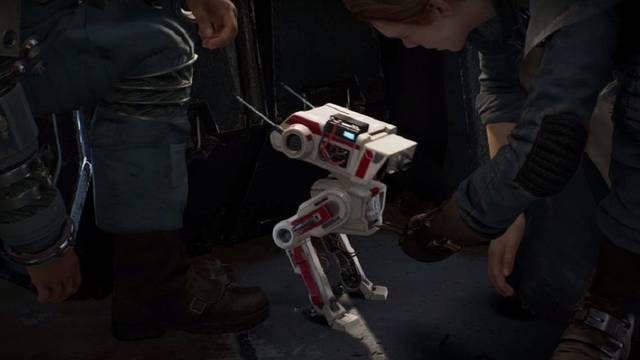 SW Jedi Fallen Order - Cómo reparar el Brazo conector