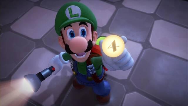 Sala de conciertos en Luigi's Mansion 3 al  100% y coleccionables