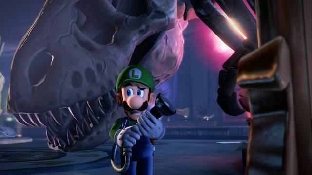 Cómo derrotar al Dinosaurio / Crujmañón en Luigi's Mansion 3